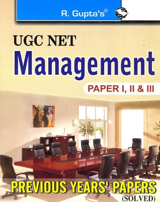Buy UGC-NET Management Previous Papers Solved 1st Edition: Book