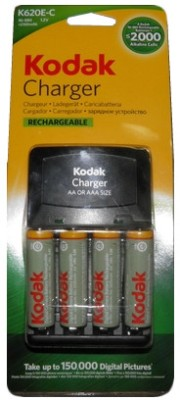 Buy Kodak K620E-C+4 (3944725) Battery Charger: Camera Battery Charger