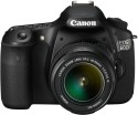 Canon EOS 60D SLR with Kit EF-S18-55mm Lens (Black)