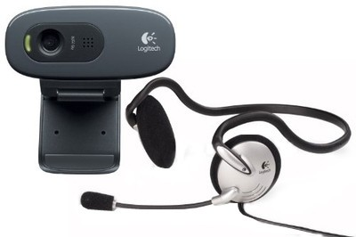 Buy Logitech C270h HD Webcam (with Headphone): Webcam