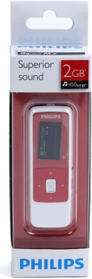 Buy Philips GoGear Mix 2 GB MP3 Player: Home Audio & MP3 Players