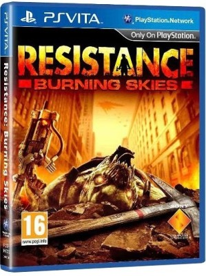 Buy Resistance: Burning Skies: Av Media