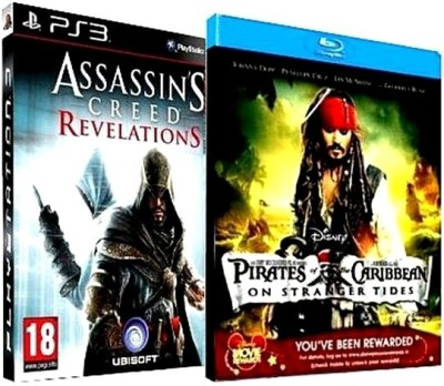 Buy Action-Adventure Combo: Assassin's Creed - Revelations + Pirates Of The Carribean (BD): Av Media