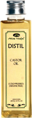 Buy Aloe Veda Distil Cold-Pressed Hexane Free Castor Oil: Bath Essential Oil