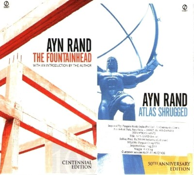 Buy Ayn Rand (Set Of 2 Books) 50 Anv Edition: Book