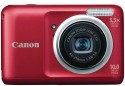 Canon Powershot A800 Point & Shoot (Red)