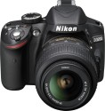 Nikon D3200 SLR with 18-55 mm VR Kit Lens (Black)