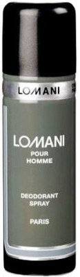 Buy Lomani Pour Homme Deo Spray  -  200 ml: Deodorant