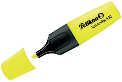 Buy Pelikan 490 Fluor Chisel Tip Highlighter Pens: Marker Highlighter