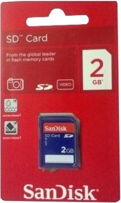 Buy SanDisk SD 2GB Memory Card: Memory Card