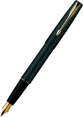 Buy Parker Frontier Matte Black (Gold Nib) GT Fountain Pen: Pen
