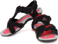 Black Pink Sparx Sandals for Rs.1099