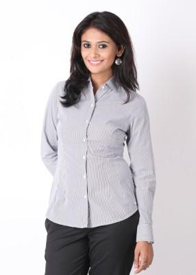 Buy Park Avenue Women's Striped Formal Shirt: Shirt