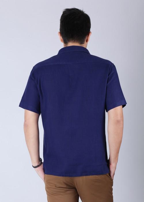 Buy Burnt Umber Men's Solid Casual Shirt